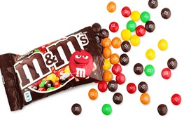 В Швеции запретили конфеты M&M's